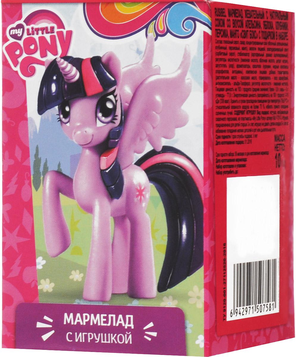 Sweet Box My Little Pony мармелад жевательный с игрушкой, 10 г sweet box пони на ладони мармелад жевательный с игрушкой 10 г