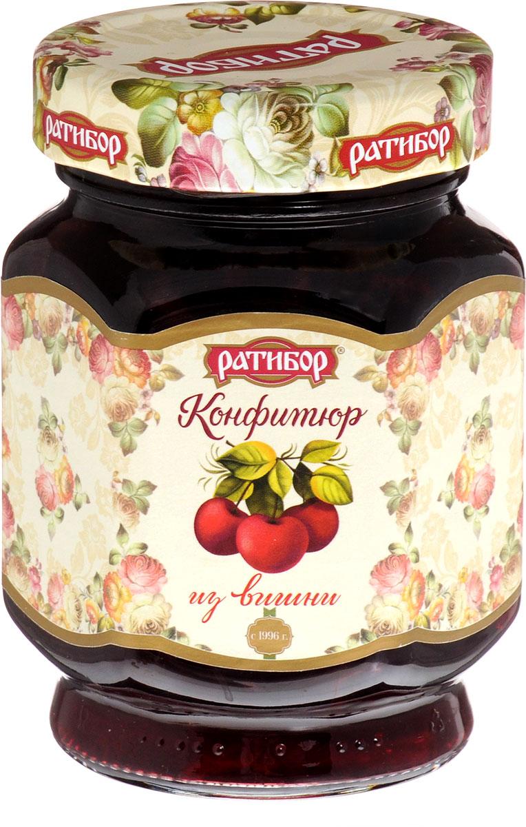 Ратибор конфитюр из вишни, 350 г ратибор варенье клюква 400 г