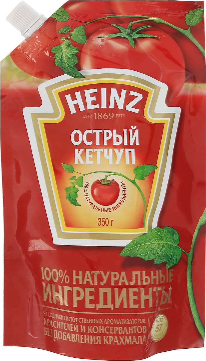 Heinz кетчуп Острый, 350 г heinz кетчуп итальянский 350 г