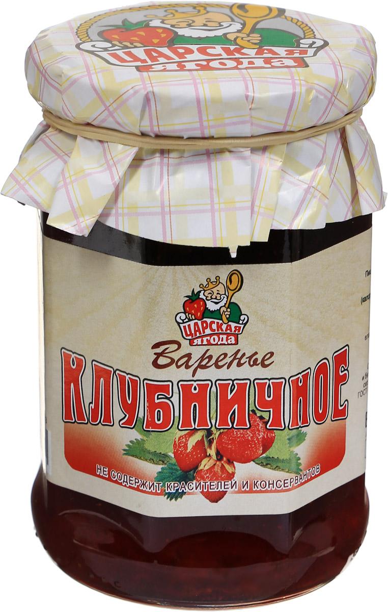 Царская ягода Варенье клубничное, 370 г te gusto варенье из облепихи 430 г
