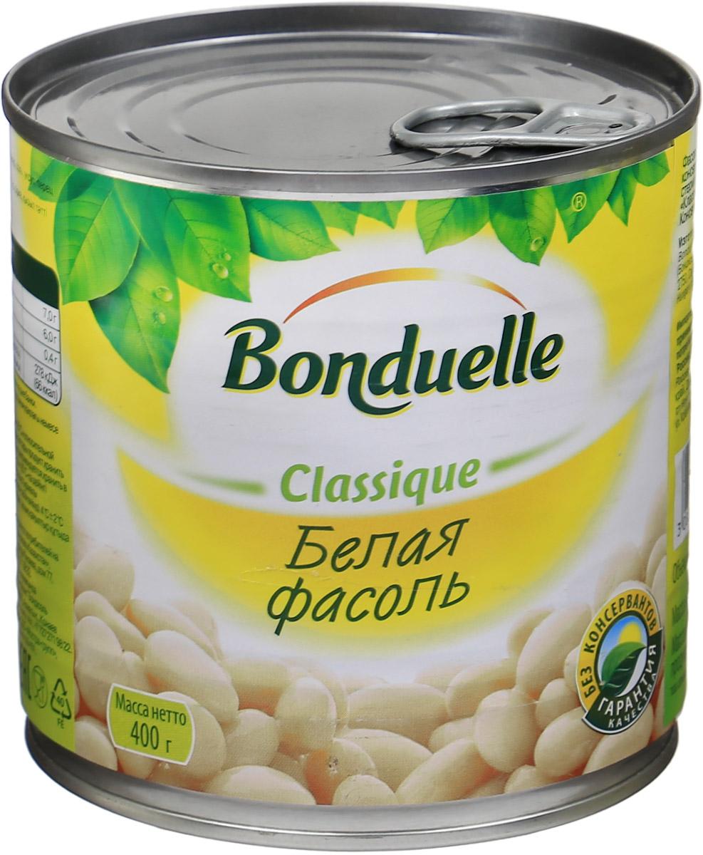 Bonduelle белая фасоль, 400 г bonduelle фьюжн горошек зеленый по парижски 400 г