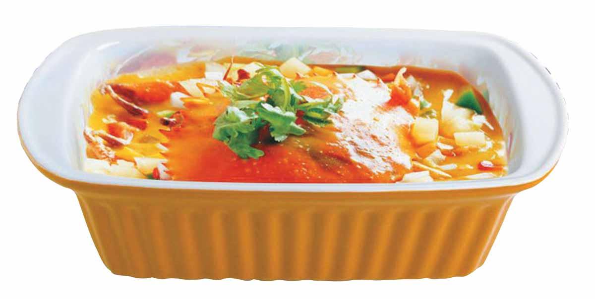 """Форма для выпечки """"Bohmann"""" подходит для использования в микроволновой, конвекционной печи и духовке. Подходит для хранения продуктов в холодильнике и морозильной камере. Можно мыть в посудомоечной машине. Устойчивая к образованию пятен и не пропускающая запах.  В такой форме можно запечь вкусный обед или ужин, и сразу же не перекладывая на другую тарелку поставить на стол. Размер: 28,6 х 15 х 8,5 см  Нагрев до температуры 220° С.   Как выбрать форму для выпечки – статья на OZON Гид."""