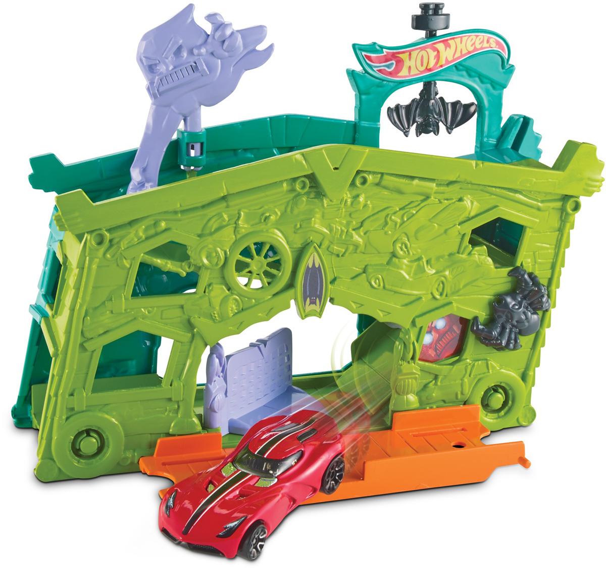 Hot Wheels Игровой набор Призрачный гараж