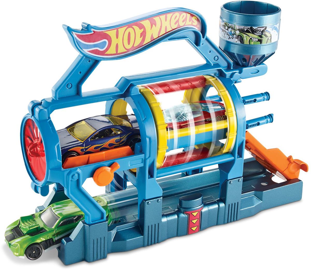 Hot Wheels Игровой набор Турбо автомойка