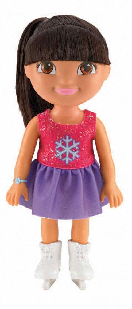 Dora the Explorer Кукла Даша на катке куклы mattel даша путешественница кукла день рождения даши