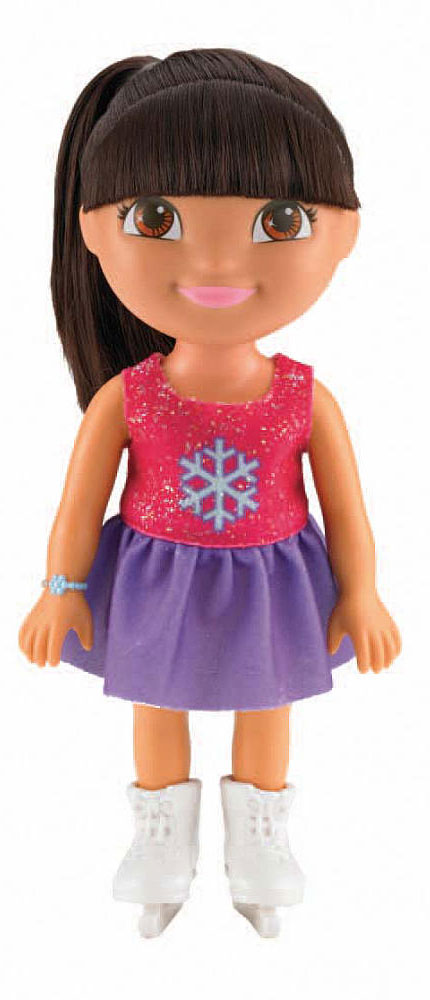 Dora the Explorer Кукла Даша на катке dora the explorer little girls ballet dance pajama set