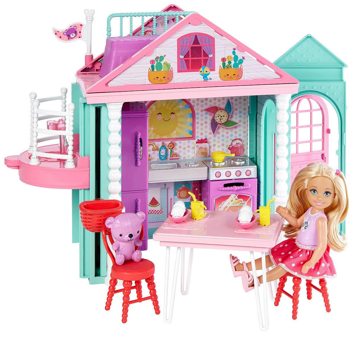Barbie Домик Челси дополнительный этаж для домика смоланд
