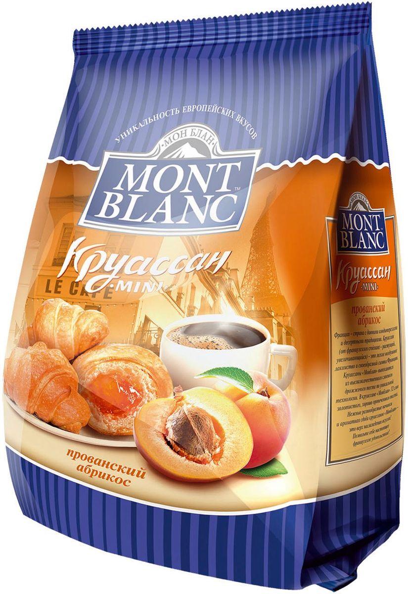 Mont Blanc круассаны мини Прованский абрикос, 200 г mont blanc круассаны мини анжуйская клубника 200 г