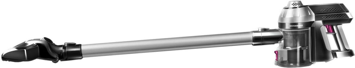 Redmond RV-UR340 пылесосRV-UR340Пылесос Redmond RV-UR340 — новая революционная модель в фантастическом дизайне, дарящая абсолютную свободу передвижения и одновременно с этим идеальную чистоту дома, мебели и даже салона автомобиля. Забудьте про громоздкость и вечно мешающийся провод. Встречайте мощную и мобильную модель, позволяющую навести безупречный порядок в любом помещении, в том числе, на лестнице.Настало время пылесосить с максимальным комфортом! Забудьте про надоедливый электрошнур – просто зарядите бытовой прибор с помощью компактного аккумулятора и перемещайте пылесос без ограничений!Пылесос UR340 оснащён надёжным креплением для удобного хранения. Установите его на стене и важная бытовая техника для дома будет всегда под рукой. Время непрерывного функционирования устройства составляет более 25 минут, а время полной зарядки шесть часов. Практичная турбощётка с электроприводом способна навести порядок в самых труднодоступных местах. В комплект аппарата дополнительно входят щелевая насадка и насадка 2 в 1.Redmond RV-UR340 порадует почти бесшумной работой и непревзойдённым футуристичным внешним видом. Для дополнительного удобства в пылесосе предусмотрена эргономичная ручка с прорезиненной вставкой и вместительный контейнер для сбора пыли, который быстро и легко моется. Вы будете просто очарованы этим инновационным прибором, который сможет очистить без труда даже сиденья машины!Тип аккумулятора: Li-ionНапряжение аккумулятора: 22,2 ВЕмкость аккумулятора: 2000 мАчЗащита от перегреваВремя полной зарядки: 6 часов