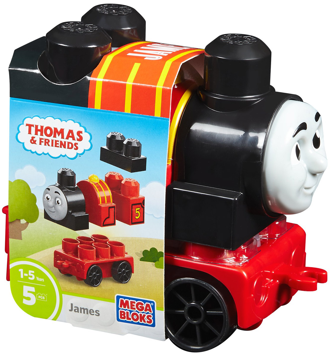 Mega Bloks Thomas & Friends Конструктор Паровозик Джеймс