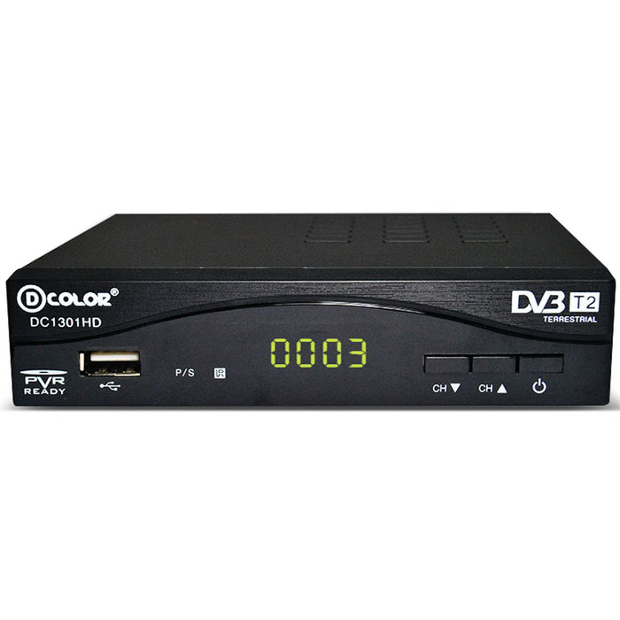 D-Color DC1301HD DVB-T2 цифровой ТВ-тюнер d color mstar 7t01 dc902hd