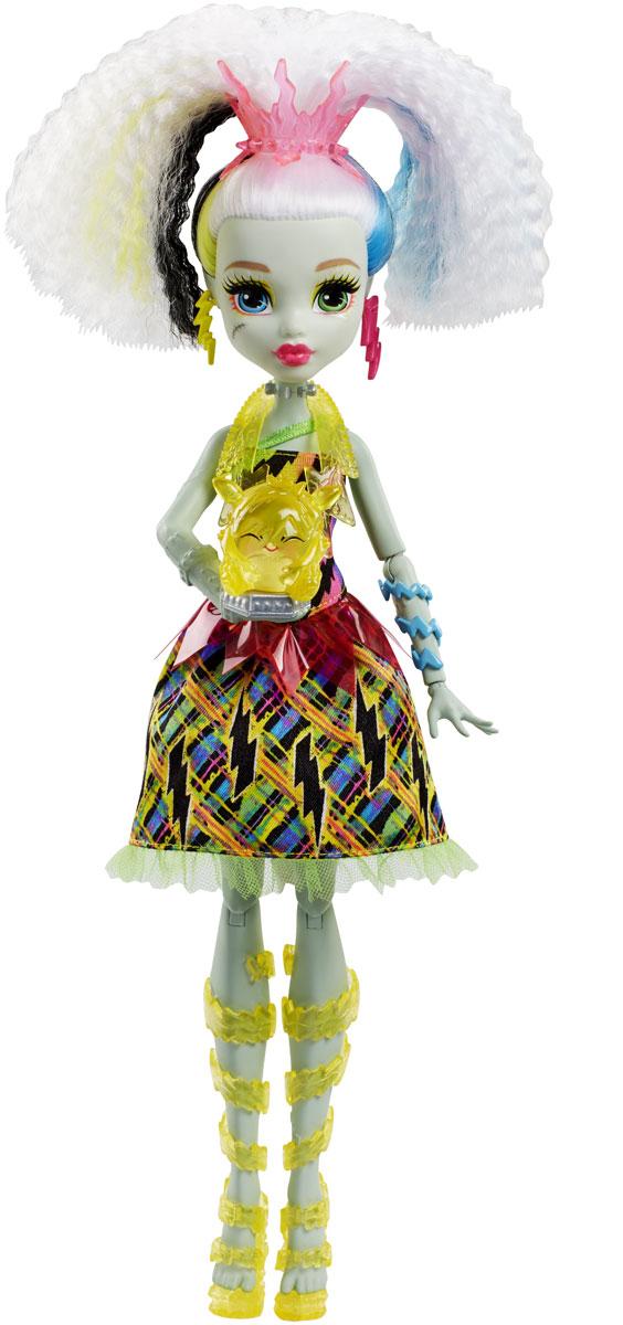Monster High Кукла Фрэнки Штейн Под напряжением mattel кукла фрэнки штейн в модном наряде monster high