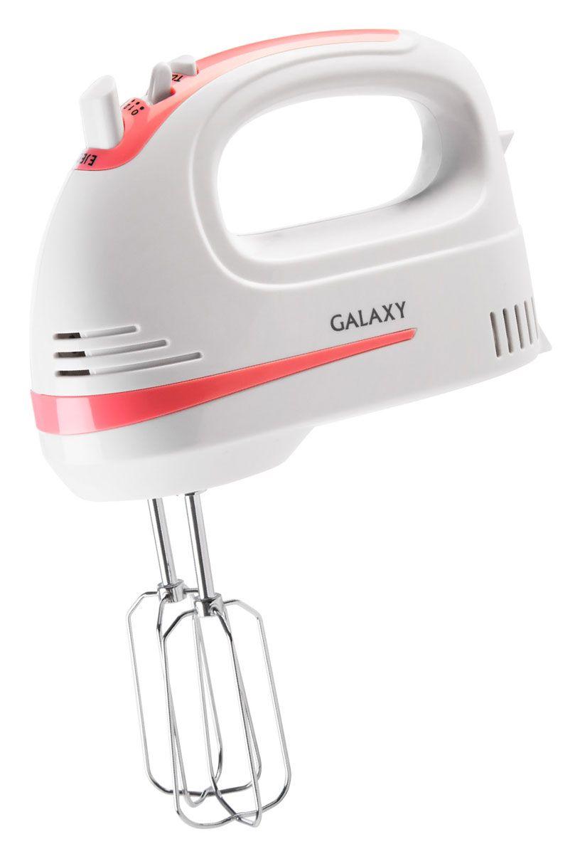 Galaxy GL 2211 миксер4650067302591Ручной миксер Galaxy GL 2211 с мощностью 250 Вт, 5 скоростями вращения и режимом Турбо. Имеет две парыпрактичных насадок для тщательного взбивания и для замешивания теста, которые гарантируют идеальныйрезультат работы. Насадки изготовлены из высококачественной нержавеющей стали. Для большего удобстваданная модель снабжена кнопкой легкого отсоединения насадок, что позволит менять насадки, не пачкая руки.Миксер удобен в использовании как правой, так и левой рукой.