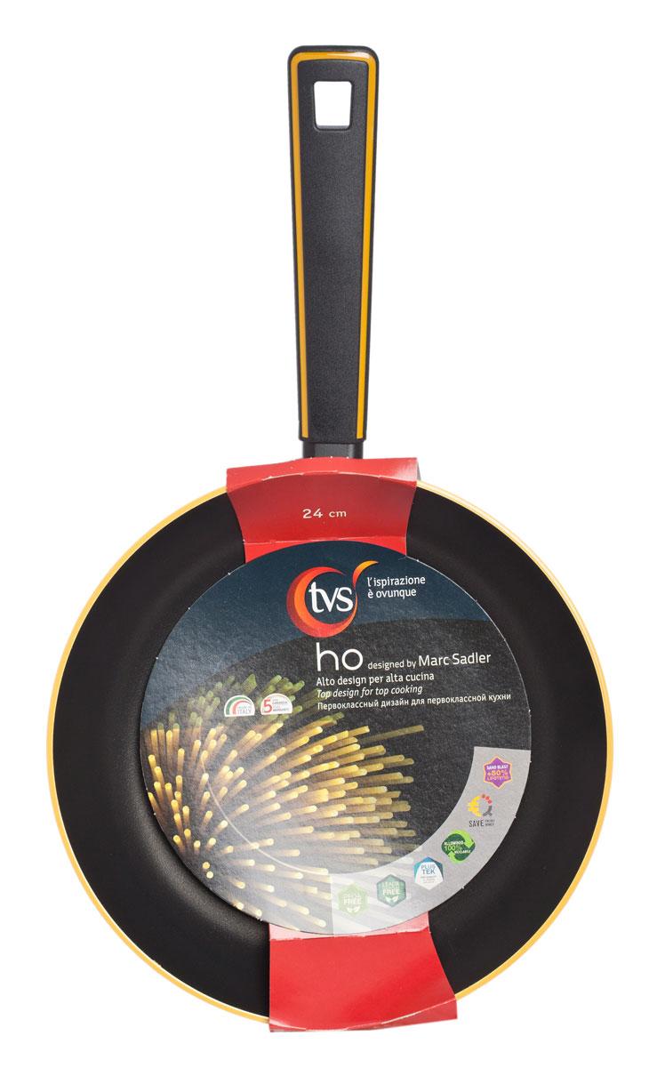 Сковорода TVS Хо, с антипригарным покрытием. Диаметр 24 см сковороды tvs сковорода tvs splendida 24 см