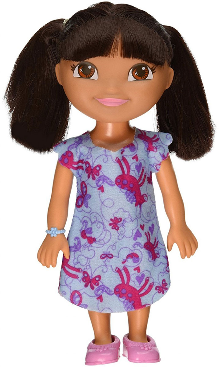 Dora the Explorer Кукла Даша готовится ко сну dora the explorer little girls ballet dance pajama set