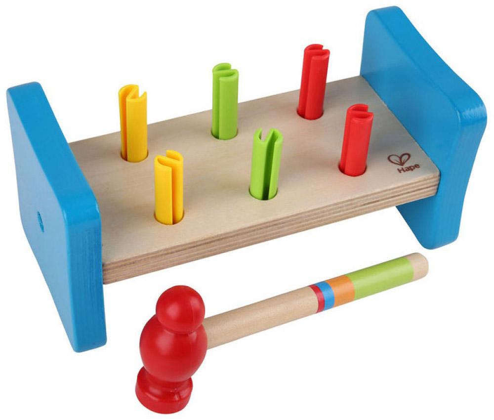 Hape Развивающая игрушка Гвоздики купить иголки гвоздики