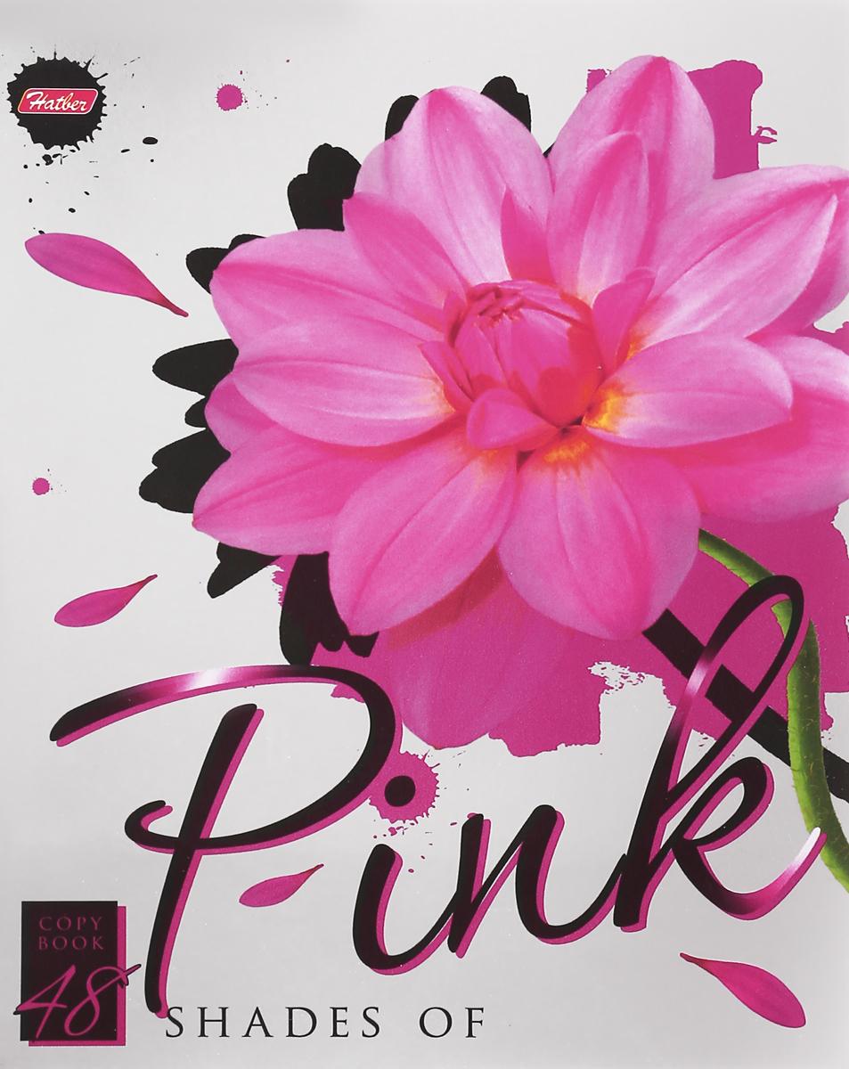 Hatber Тетрадь Pink 48 листов в клетку hatber тетрадь the truth is out there 60 листов в клетку