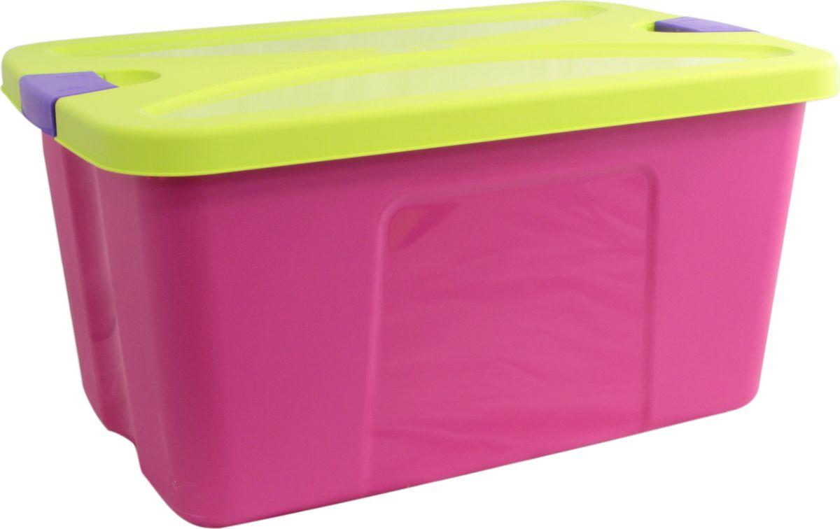 Idea Ящик для игрушек Секрет цвет малиновый 39 х 59 х 29,5 см