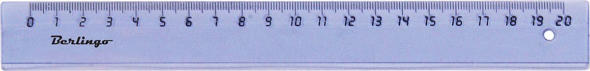 Berlingo Линейка цвет прозрачный 20 смPR_00120Прозрачная линейка из пластика Berlingo длиной 20 см имеет безопасные закругленные края. Каждая линейка упакована в пластиковый пакет севроподвесом.