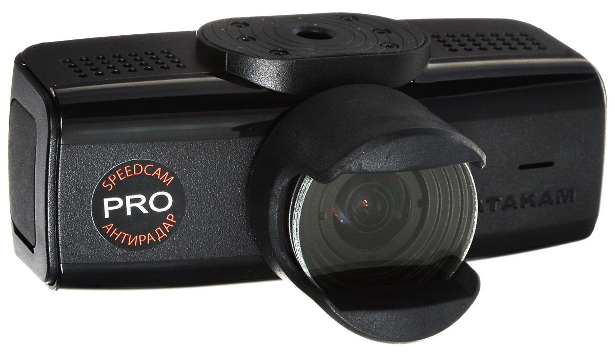 Datakam 6 Pro, Black видеорегистратор6 PROВидеорегистратор Datakam 6 Pro отличается удобной конструкцией и надежностью.Данная модель оснащена широкоугольным объективом (с углом обзора 150 градусов), динамиком и микрофоном, что гарантирует запись полной картины в любой дорожной ситуации.Регистратор Datakam 6 Pro записывает видео в формате 2560x1080 и оборудован датчиком удара, GPS, ГЛОНАСС.Поддержка карт памяти формата microSD объемом до 64 ГБ обеспечивает бесперебойную съемку и дальнейшее хранение файлов. Видеорегистратор питается от автомобильного прикуривателя или встроенного резервного аккумулятора.