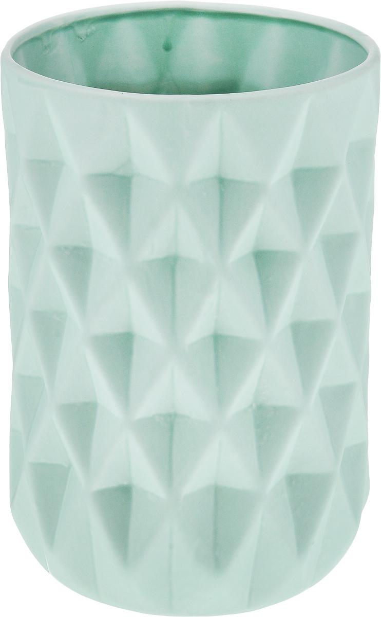 Ваза декоративная Феникс-Презент, высота 23 см. 4382643826Оригинальная ваза Феникс-Презент изготовлена из фаянса. Рельефная поверхностью вазы делает ее изящным украшением интерьера. При желании изделие можно оформить по собственному вкусу, например раскрасив его красками. Ваза Феникс-Презент дополнит интерьер офиса или дома и станет желанным и стильным подарком.Диаметр вазы по верхнему краю: 14 см.Диаметр дна: 12 см. Высота вазы: 23 см.