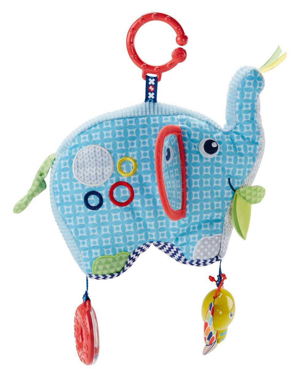 Fisher-Price Развивающая игрушка Слон аппликация из песка fisher price слон 03186