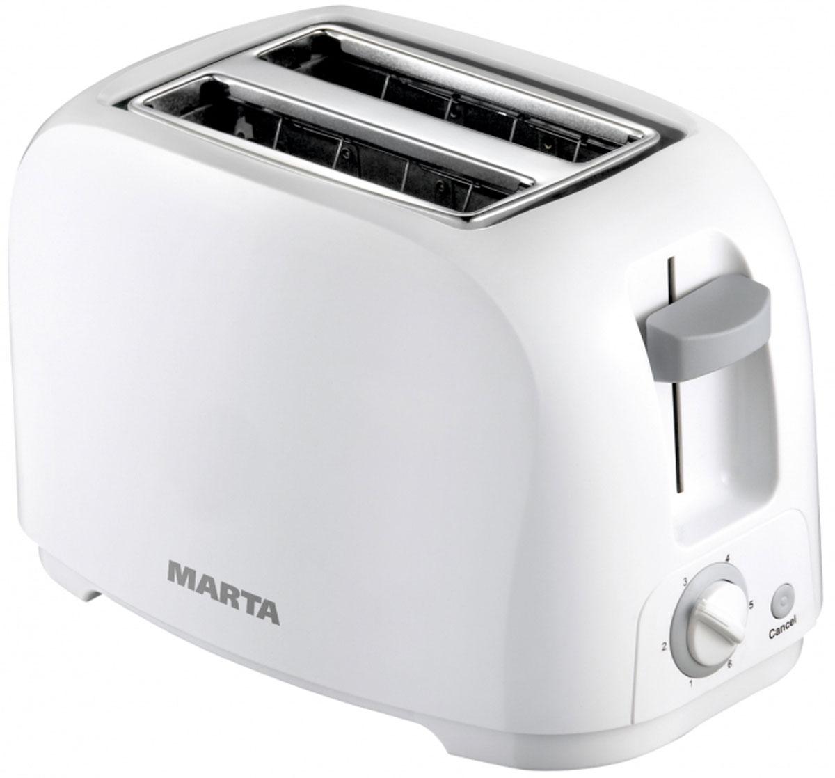 Marta MT-1708, White тостер - Тостеры