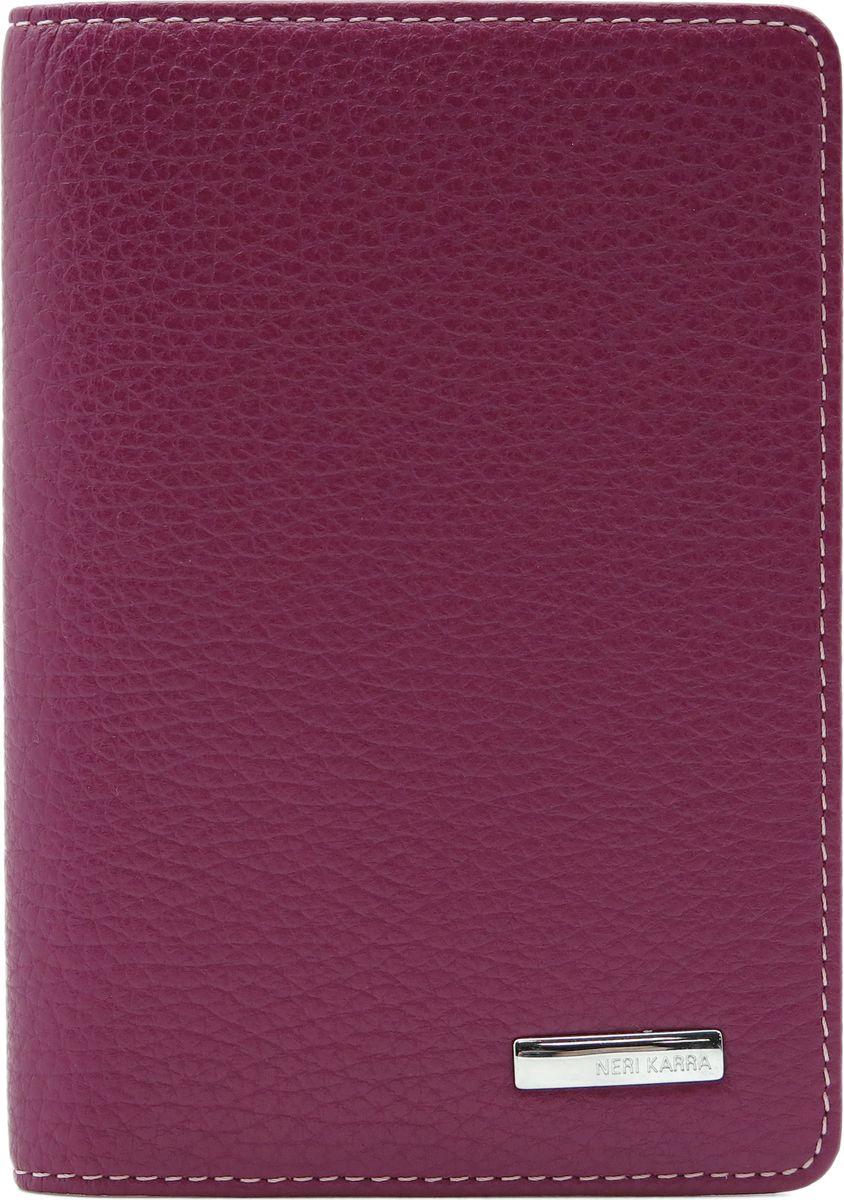 Обложка для паспорта женская Neri Karra, цвет: сиреневый. 0140 803.74/47 neri karra 0208 803 77 33 page 4