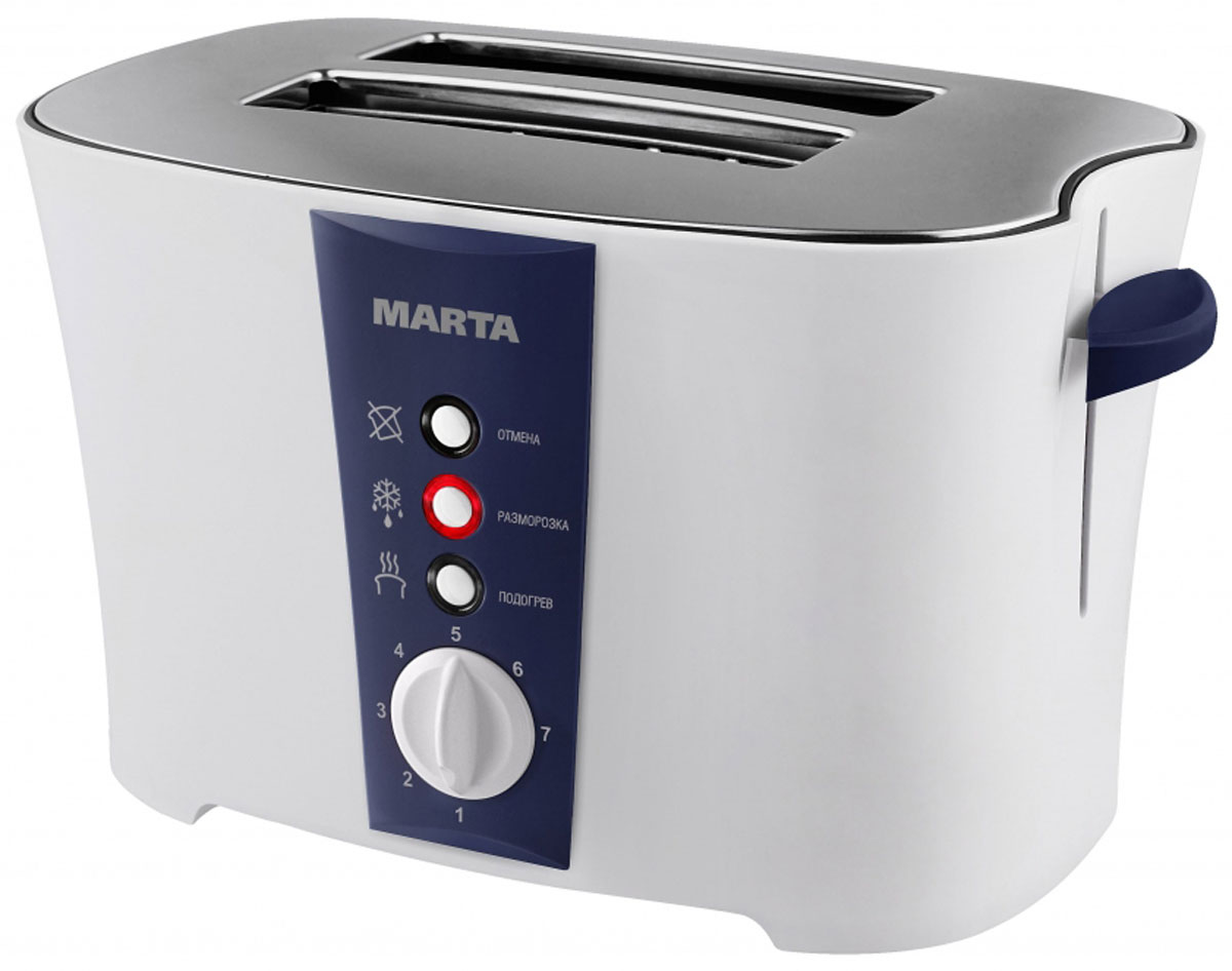 Marta MT-1709, Dark Blue тостер - Тостеры