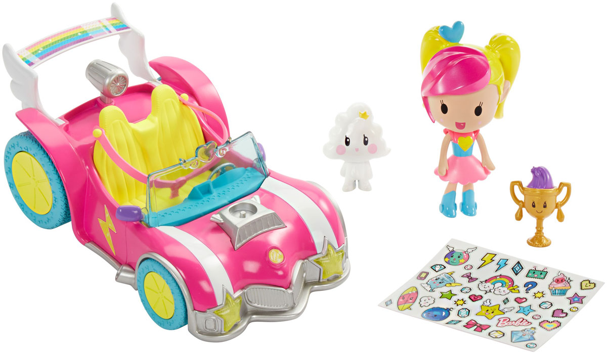 Barbie Игровой набор с мини-куклой Video Game Hero машинки barbie игровой набор фургон