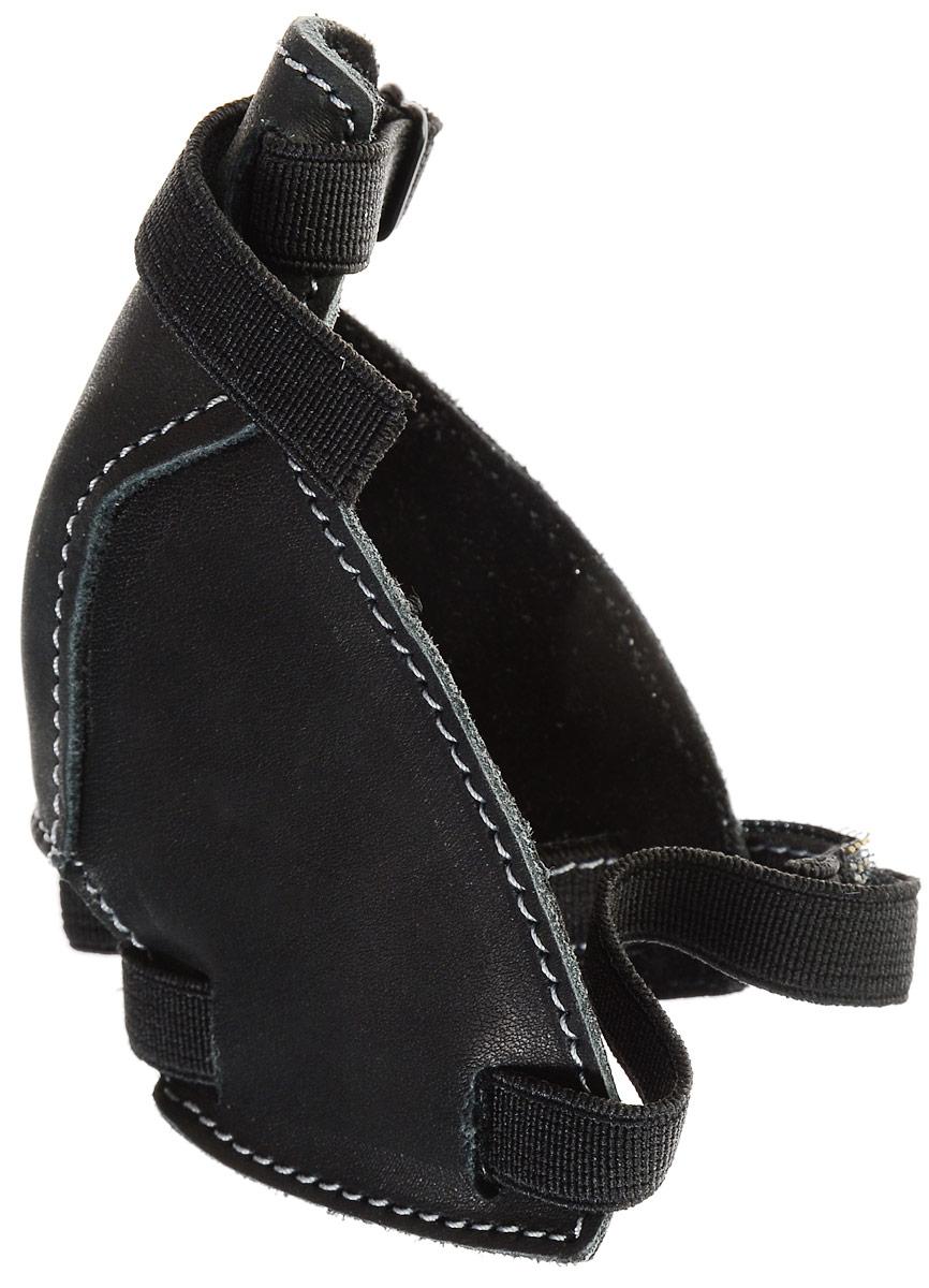 Защита для женской обуви на каблуке My Car, цвет: черныйPH5970Защита для женской обуви на каблуке My Car - это специальное приспособление, изготовленное из натуральной кожи и полиэстера, которое надевается на обувь и крепится при помощи ремешка и резинки. Изделие плотно прилегает, не доставляет никакого дискомфорта (не мешает при вождении) и отлично справляется с основной своей задачей - защитой вашей обуви. Размер защиты - универсальный, подходит для каблука любого диаметра. В комплекте: 1 штука.