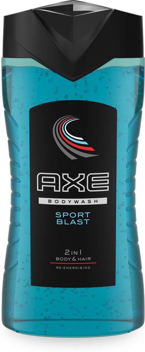 Axe Гель для душа и шампунь 2в1 Sport Blast 250 мл65414581AXE Sport Blast - Аромат, будоражащий женское воображение и аккумулирующий мужскую энергию, способен спровоцировать тебя на впечатляющие рекорды...