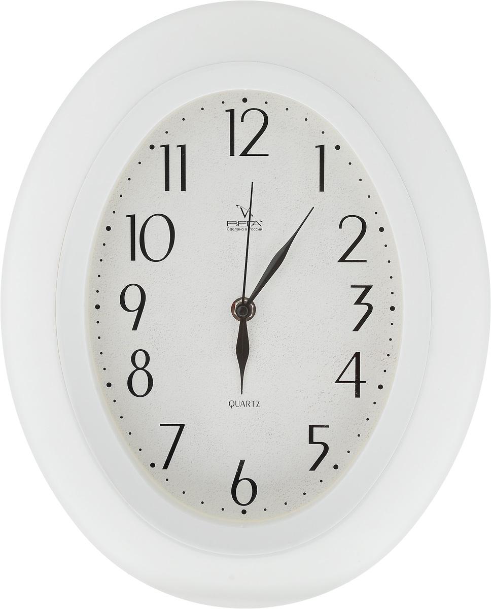Часы настенные Вега Классика, 34,5 х 27,5 смП5-7/7-21Настенные кварцевые часы Вега Классика,изготовленные из пластика, прекрасно впишутся винтерьер вашего дома. Часы имеют три стрелки: часовую,минутную и секундную, циферблат защищен прозрачнымстеклом.Часы работают от 1 батарейки типа АА напряжением 1,5 В(не входит в комплект). Прилагается инструкция по эксплуатации.