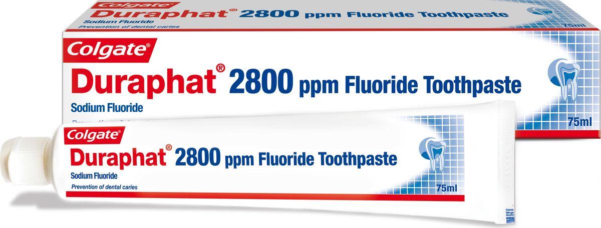 Colgate Зубная паста Duraphat 2800ppm 75мл - Товары для гигиены
