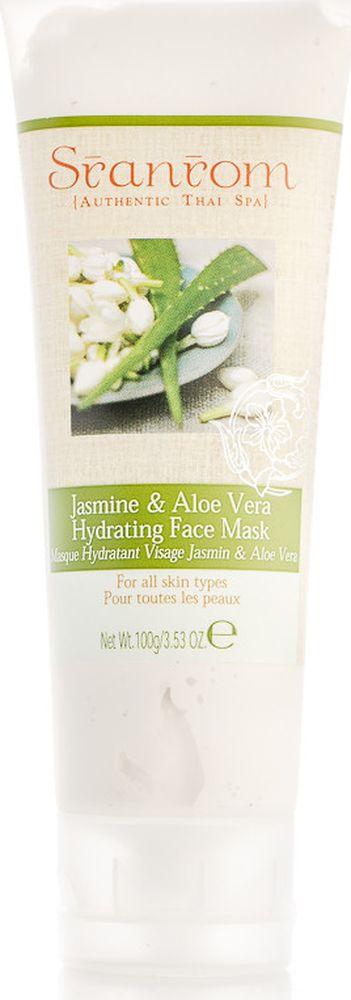 Sranrom Маска для лица Жасмин и Алоэ-вера увлажняющая 100 гр103-5020Тайский рецепт ухода за кожейВоспользовавшись нашей увлажняющей маской для лица, вы, несомненно, оцените тот эффект, который она окажет на вашу кожу. Маска «Жасмин и Алоэ-вера» предаст лицу свежий и отдохнувший вид, успокоит раздраженную кожу. 99% компонентов, содержащихся в этом средстве, полностью натуральны. Увлажняющая маска, представленная в нашем интернет-магазине, подходит для всех типов кожи. Попробуйте это органическое средство и убедитесь в его освежающем и увлажняющем действии. Оно расслабит и успокоит эпидермис, избавит вас от следов усталости, защитит от сухости и обезвоживания. После использования такой косметики ваша кожа придет в тонус и наполнится жизненной силой.Для большего эффекта охладите средство перед нанесением. Наложите его равномерным слоем на влажную кожу, оставьте на 3-4 минуты, чтобы все полезные вещества успели впитаться, а затем смойте теплой водой.