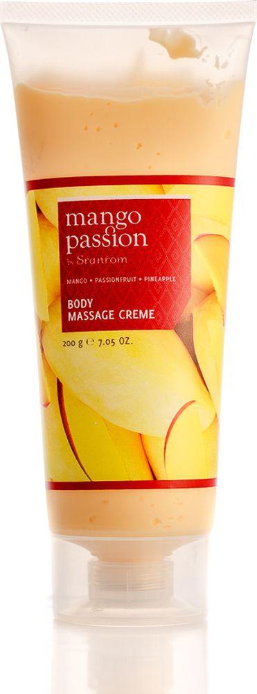 Sranrom Крем для массажа тела Страстное манго 200 гр140-8006Подарите отдых Вашему телу с кремом для массажа, изготовленным из натуральных экстрактов тропических фруктов: манго, маракуйя и ананас.Этот крем для массажа позволит подчеркнуть красоту Вашей кожи и усилит кровообращение после массажа, придавая Вашей коже непревзойденную мягкость и великолепный тонкий аромат тропических фруктов.