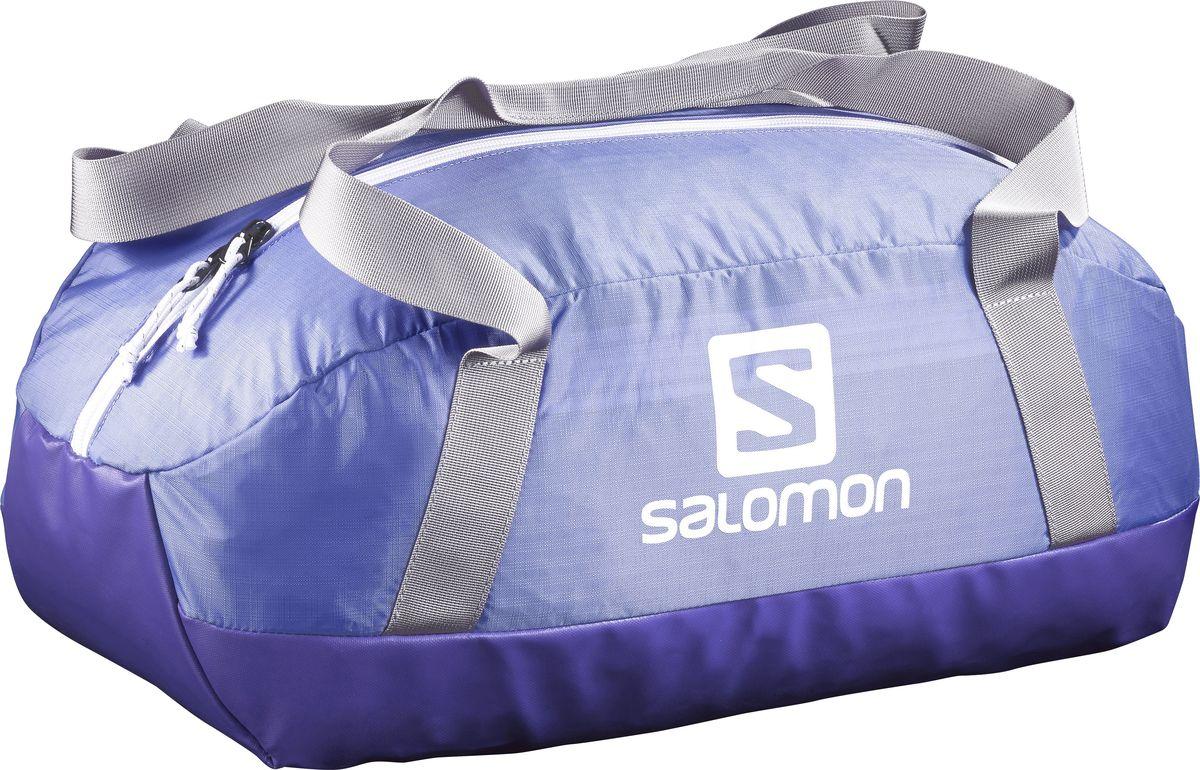 Сумка спортивная Salomon Prolog 25, цвет: синий, 25 лL39282000Сумка Salomon Prolog 25 Bag выполнена из качественного полиэстера и оформлена принтом с изображением логотипа бренда. Сумка оснащена удобными ручками и закрывается на застежку-молнию. Внутри расположено вместительное отделение, которое содержит небольшой вшитый карман на молнии для мелочей.Небольшая сумка Prolog Bag удобна для похода в спортивный зал. Прочное непромокаемое дно надежно защитит вещи на любой поверхности.