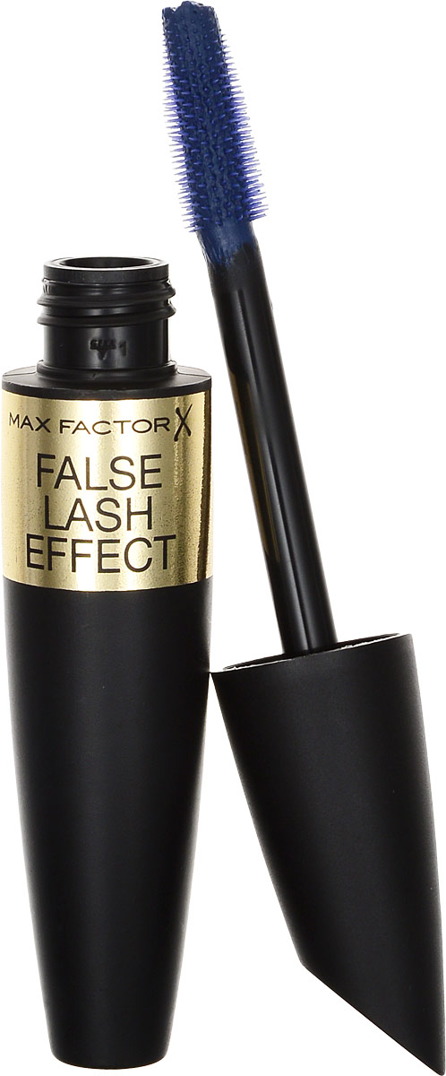 Max Factor Тушь Для Ресниц С Эффектом Накладных Ресниц False Lash Effect Full Lashes Natural Look Mascara Deep blue 13.1 мл тушь для ресниц max factor false lash effect epic mascara 01 цвет 01 black variant hex name 000000 вес 20 00