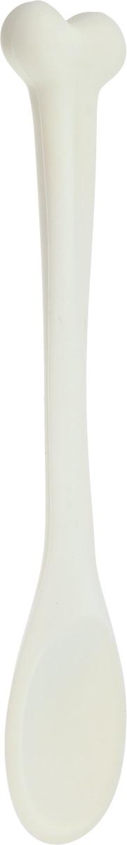 Ложка кулинарная Ototo Bone Appetit, длина 30 смOT816Оригинальная кулинарная ложка Ototo Bone Appetit выполнена из высококачественного силикона. Предназначено изделие для готовки и подачи на стол. Рукоятка ложки, выполненная в форме кости, не позволит ложке выскользнуть из вашей руки. Эта ложка займет достойное место среди аксессуаров на вашей кухне.Общая длина ложки: 30 см.Размер рабочей поверхности ложки: 6 х 9 см.