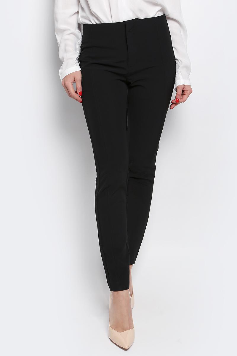 Брюки женские Tom Tailor Contemporary, цвет: черный. 6404922.00.75_2999. Размер 34 (40) брюки tom tailor 6404736 00 10 6889