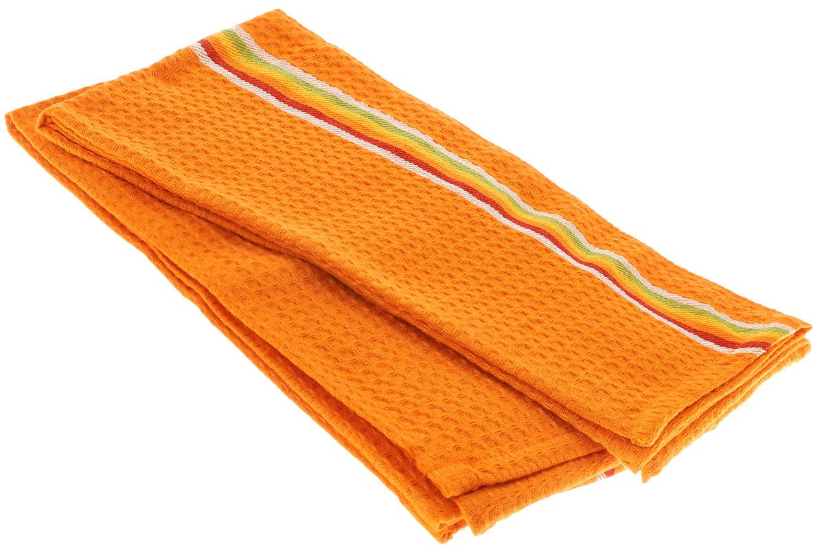 Полотенце для посуды Tescoma Presto Tone, цвет: оранжевый, 70 x 50 см, 2 шт639770_ОранжевыйМягкое полотенце Tescoma Presto Tone выполнено из натурального хлопка. Изделие отлично впитывает влагу и не оставляет подтеков. Полотенце предназначено для протирания посуды и многофункционального использования на кухне. В комплект входят 2 полотенца. Традиционная клеточка и сочные цвета сделают изделие украшением любого кухонного интерьера.Размер: 70 х 50 см.