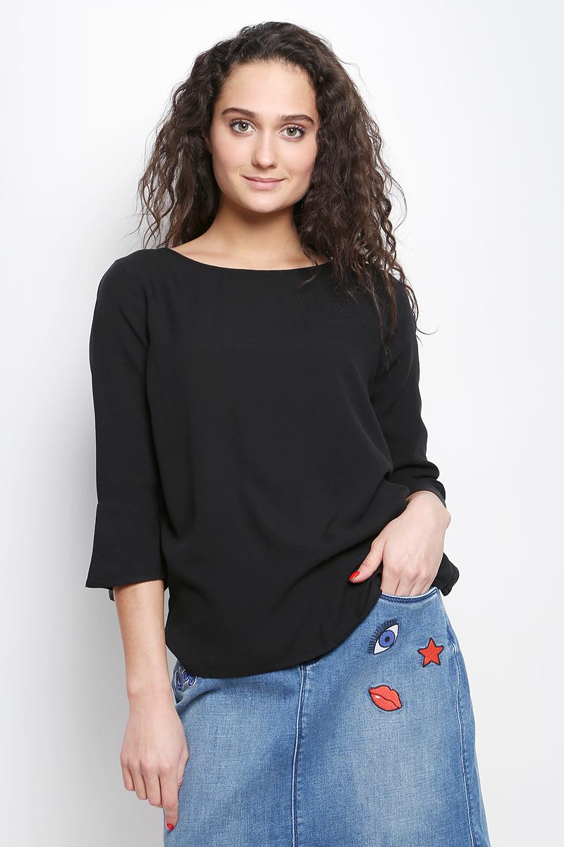 Блузка женская Tom Tailor Contemporary, цвет: черный. 2032979.00.75_2999. Размер 40 (46) tom tailor блузка