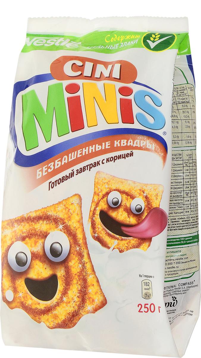 Cini Minis готовый завтрак с корицей, 250 г
