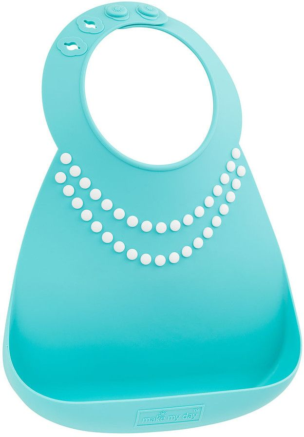 Make My Day Нагрудник Baby Bib Tiffany Pearls
