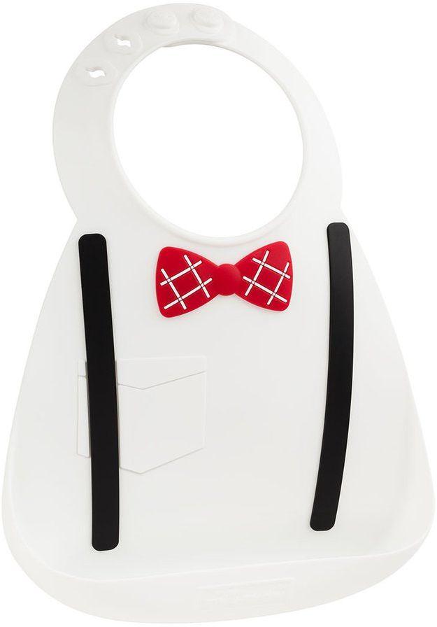 Make My Day Нагрудник Baby Bib Scholar цвет белый детские силиконовые силиконовые водонепроницаемый нагрудник чтобы съесть ужин карман слюны полотенце bibs bib ребенка t