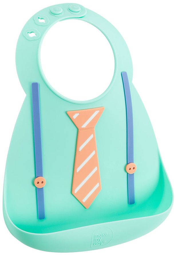 Make My Day Нагрудник Baby Bib Tie & Suspender