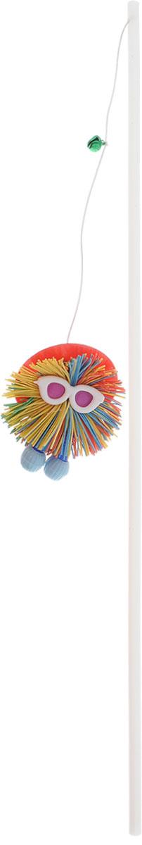 Игрушка для кошек Zoobaloo Дразнилка. Шуршик, цвет: белый, голубой, красный, длина 58 см102_красная шляпаZoobaloo Дразнилка. Шуршик - пластиковая дразнилка с шуршащим забавным зверьком яркой расцветки на резиновой подвеске с бубенчиком. Эта игрушка поможет вашему любимцу развеяться и вдоволь попрыгать, поцарапать и побегать. Кроме того, звонкий колокольчик непременно увеличит удовольствие от игры. Эта забавная игрушка наверняка понравится вашему любимцу.Длина стержня: 38 см.Общая длина игрушки: 58 см.УВАЖАЕМЫЕ КЛИЕНТЫ! Обращаем ваше внимание на возможные изменения в цветовом дизайне, связанные с ассортиментом продукции. Поставка осуществляется в зависимости от наличия на складе.