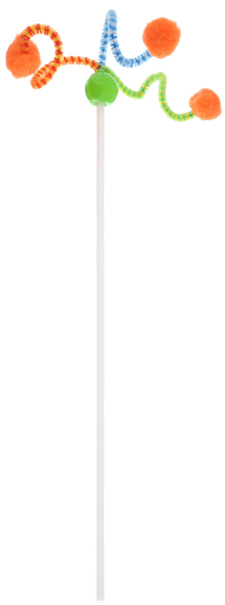 Игрушка для кошек Zoobaloo Дразнилка. Антеннка, длина 50 см108Игрушка для кошки Дразнилка. Антеннка с гибким пластиковым стержнем и помпонами принесет вам и вашей кошке море положительных эмоций. Ваша кошка непременно будет благодарна вам за эту потрясающую игрушку! Длина палки: 37,5 см. Длина с учетом подвески: 50 см.УВАЖАЕМЫЕ КЛИЕНТЫ! Обращаем ваше внимание на возможные изменения в цветовом дизайне, связанные с ассортиментом продукции. Поставка осуществляется в зависимости от наличия на складе.