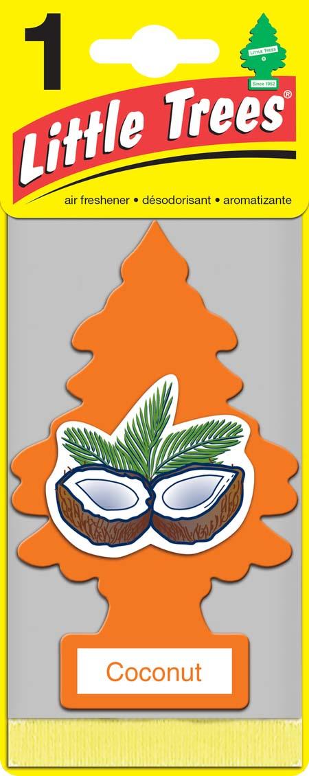 Освежитель Car-Freshner Елочка КокосU1P-10317-RUSSОригинальный ароматизатор Освежитель Car-Freshner сделан из высококапилярного качественного картона - что позволяет долго сохранять аромат и насыщенность красок изображения. Уникален по эффективности действия, насыщенности и стойкости запахаПовесьте ароматизатор в любом удобном месте - в салоне автомобиля, дома или в офисе - и получайте удовольствие!Характеристики: Материал: 100% спрессованная целлюлоза, полимеры, нетоксичные отдушки.Размер упаковки: 19 см х 7,5 см х 1 см.Уважаемые клиенты! Обращаем ваше внимание на возможные изменения в дизайне упаковки. Качественные характеристики товара остаются неизменными. Поставка осуществляется в зависимости от наличия на складе.