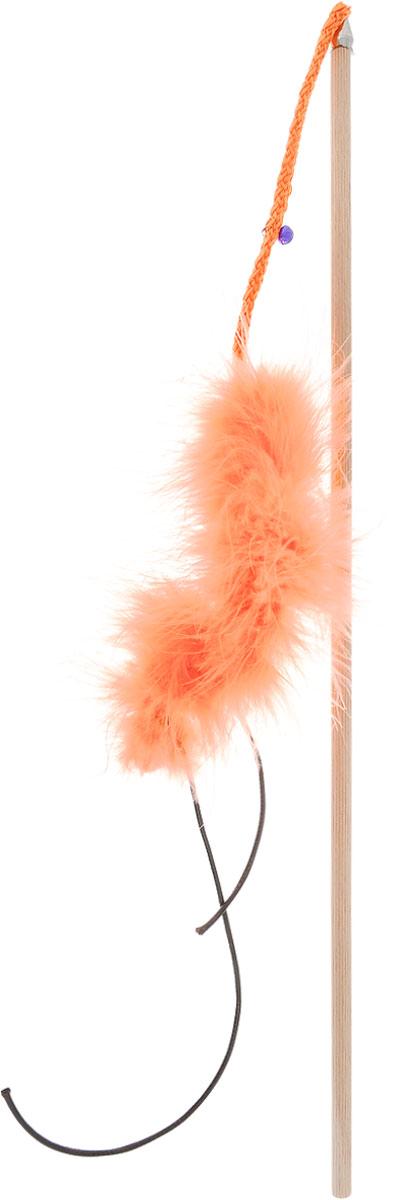 Игрушка для кошек Zoobaloo Бамбук марабу со шнурками, длина 110 см. 134134Игрушка для кошек Zoobaloo Бамбук марабу со шнурками выполнена из бамбукового стержня с подвешенным на шнурке меховым хвостиком. Звук колокольчика привлечет внимание вашего питомца. Дразнилка превосходно развивает охотничьи инстинкты вашей кошки, а также развивает моторику передних лап и когтей.Такая игрушка порадует вашего любимца, а вам доставит массу приятных эмоций, ведь наблюдать за игрой всегда интересно и приятно.Длина стержня: 48 см.Общая длина игрушки: 110 см.УВАЖАЕМЫЕ КЛИЕНТЫ! Обращаем ваше внимание на возможные изменения в цветовом дизайне, связанные с ассортиментом продукции. Поставка осуществляется в зависимости от наличия на складе.
